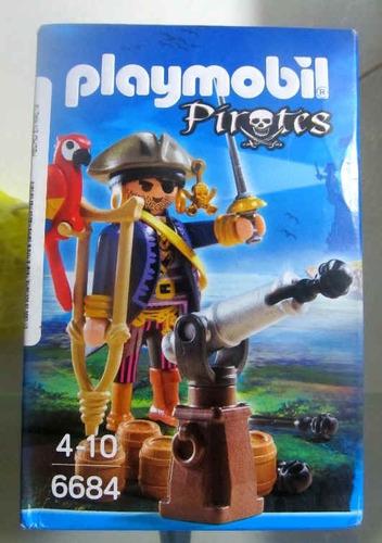 playmobil 6684 pirata con cañon fotos reales