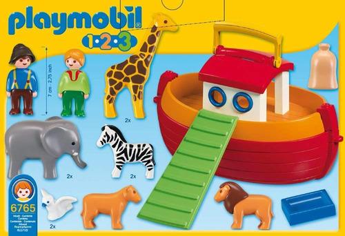 playmobil 6765 arca de noé maleta transportável prod. europ.