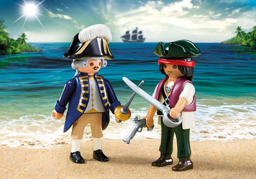 playmobil 6846 duo pack pirata y soldado