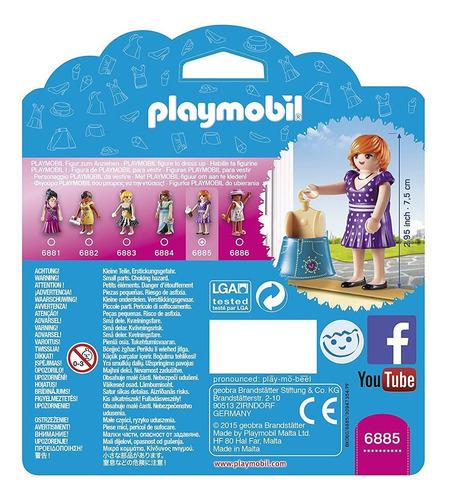 playmobil 6885 fashion girls moda ciudad original tv bigshop