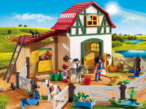 playmobil 6927 granja de los ponys collagekidsar