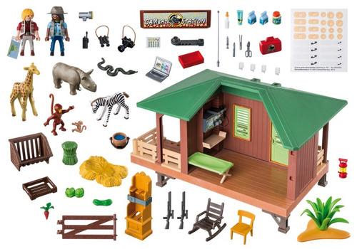 playmobil 6936 wild life clinica veterinaria original intek