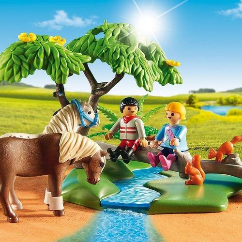 playmobil 6947 paseo de ponys en el campo collagekidsar
