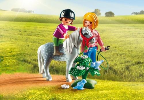 playmobil 6950 paseo con pony collagekidsar