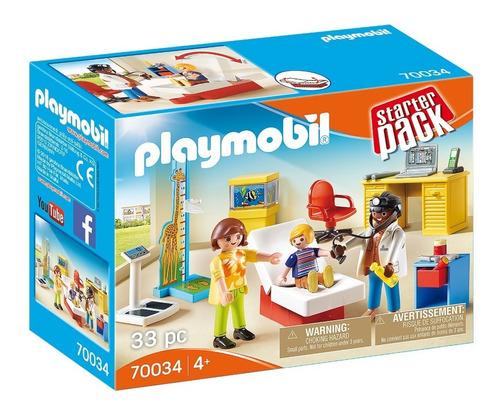 playmobil 70034 pediatra starter pack geobra