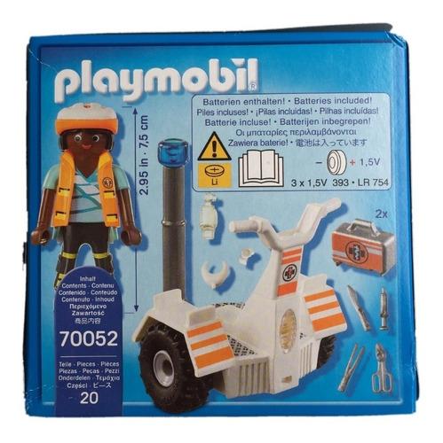 playmobil 70052 stegway de resgate city life geobra