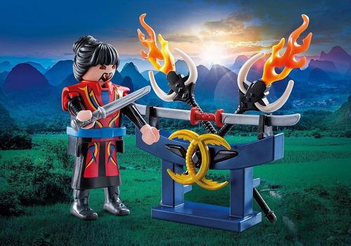 playmobil 70158 guerreiro asiático special plus geobra