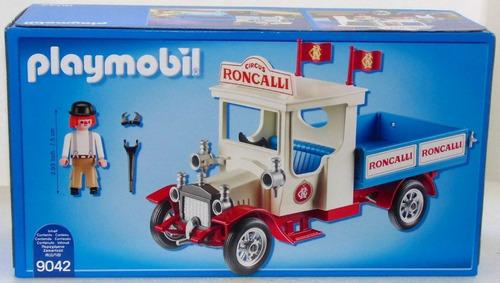 playmobil 9042 caminhão circus roncalli ed. limitada geobra