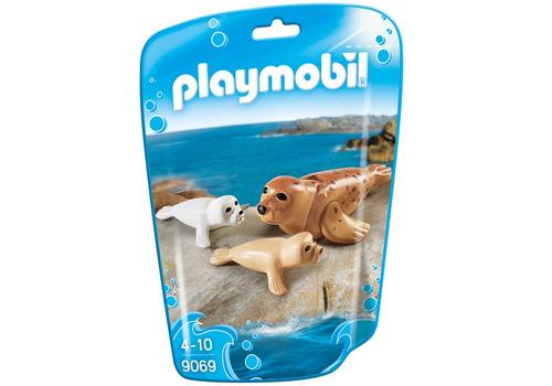 playmobil 9069 foca con bebe´s