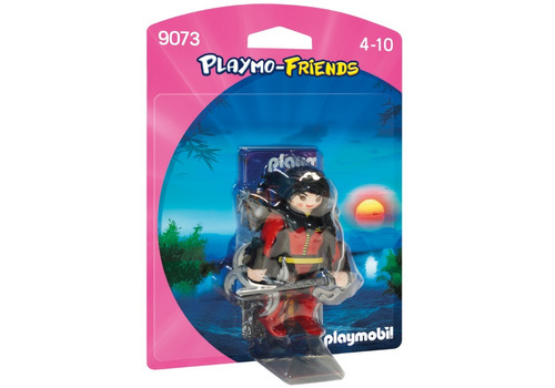 playmobil 9073 playmo-friends guerrera(7381)