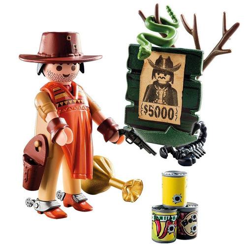 playmobil 9083 vaquero cowboy con varios accesorios