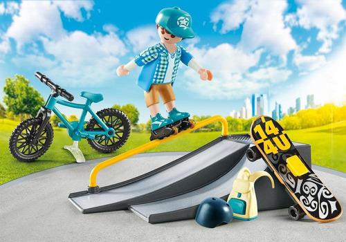 playmobil 9107 maletín deportes extremos