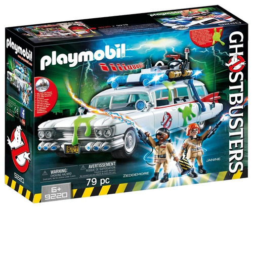 playmobil 9220 ecto-1 ghostbusters
