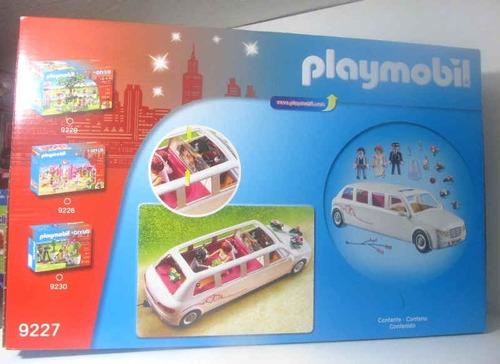 playmobil 9227 limosina de boda fotos reales novios nuevo