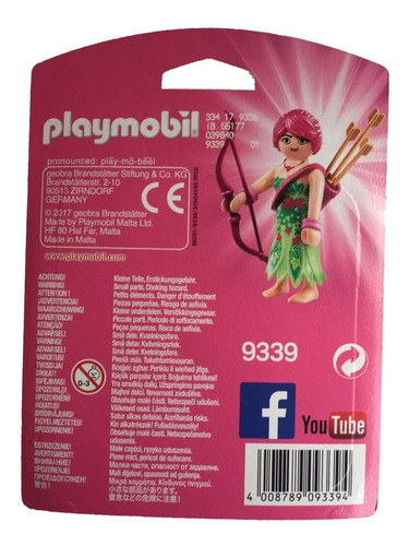 playmobil 9339 arqueira elf - playmo-friends geobra