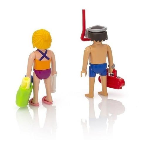 playmobil 9449 playa 2 figuras duo pack nuevo cod  bigshop