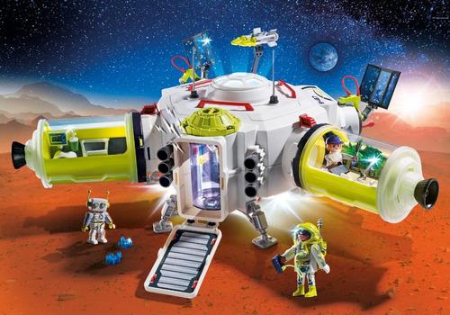 playmobil 9487 estação espacial marte geobra