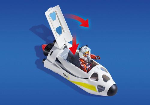 playmobil 9488 estação de lançamento espacial geobra