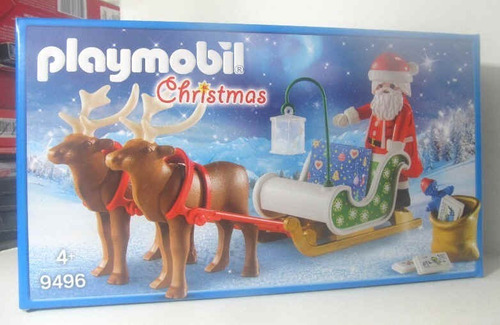 playmobil 9496 trineo de papa noel fotos reales navidad