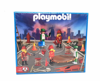 playmobil 9514 set de bomberos original antex