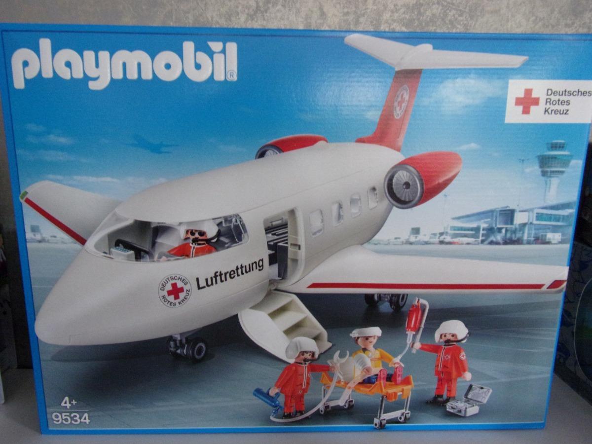 Playmobil 9534 Avião Drc Rescue Plane