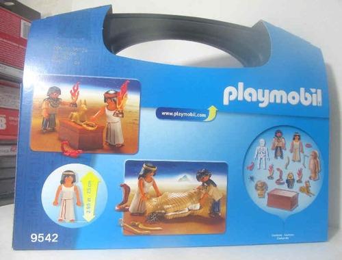 playmobil 9542 maletin tesoro egipcio fotos reales egipto