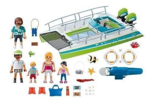playmobil action barco visão submarina presente para menino