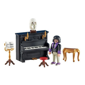 Playmobil Add On 6527 Pianista Con Piano