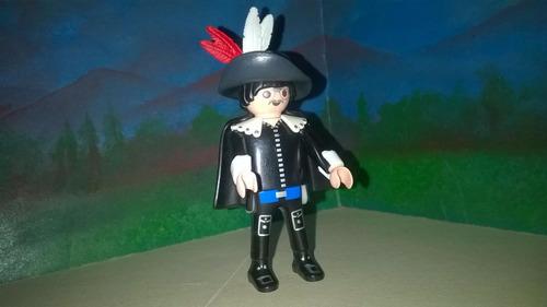 playmobil alguacil juez de plaza torero negro victoriano b