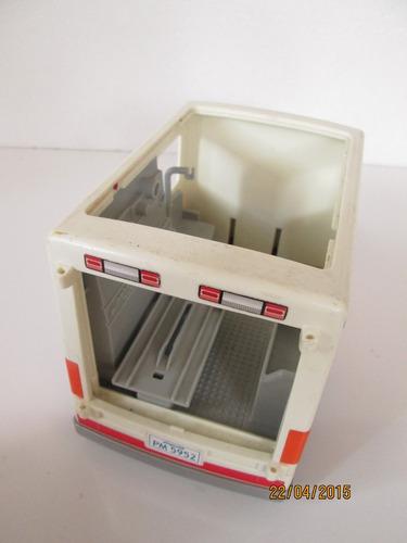 playmobil ambulancia refaccion para costum