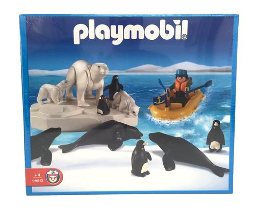playmobil animales marinos con muñeco articulado original