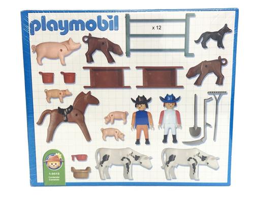 playmobil animales y corrales original antex