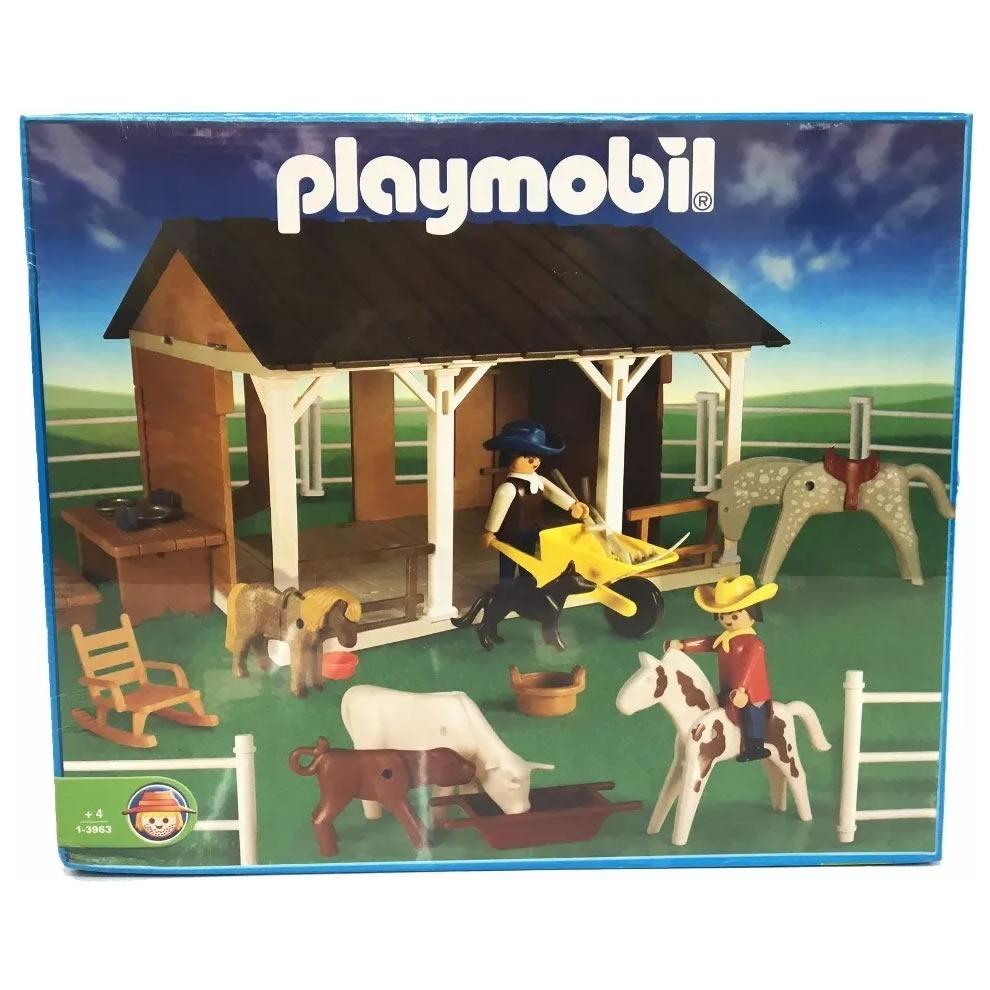 Playmobil Antex Establo Casa De Campo Caballos Tienda Pepino -   800 ... 47945cbf6a2