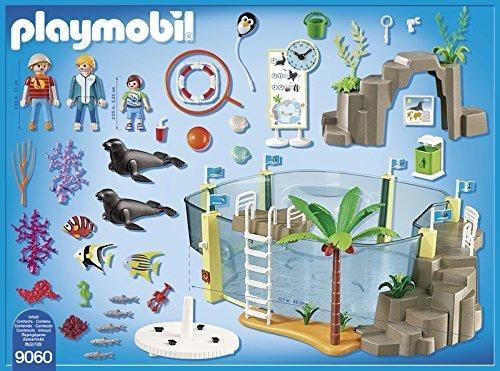 playmobil® aquarium set construcción marino incluye figuras