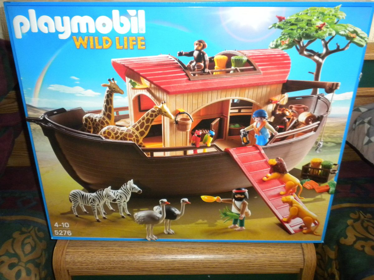 Playmobil arca de no 5276 1 en mercado libre for Arca de noe playmobil