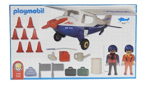 playmobil avioneta 13788 full