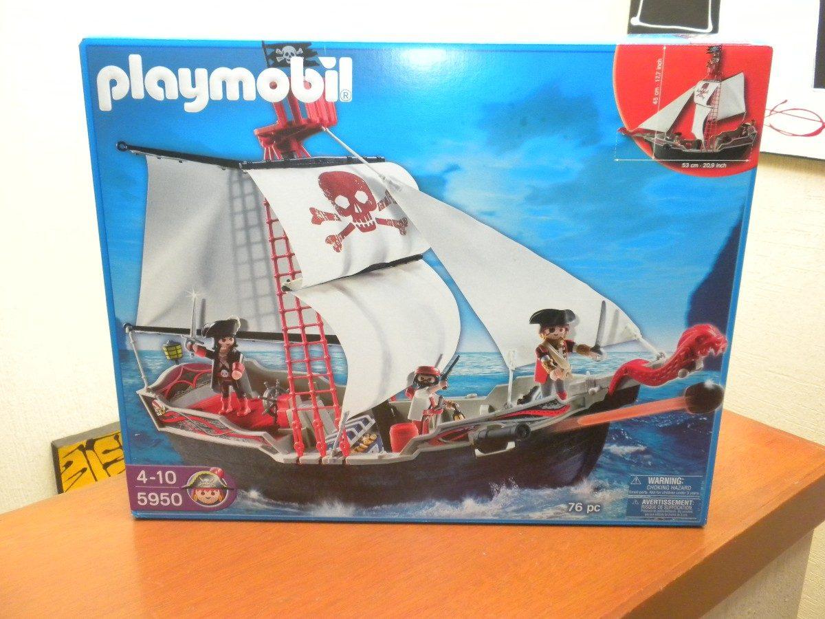 Playmobil barco pirata 5950 1 en mercado libre for Barco pirata playmobil