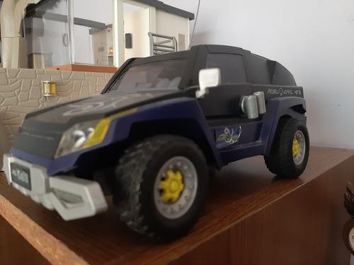 playmobil base y camioneta top agents