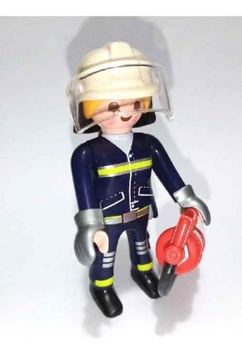 playmobil bombera serie 13 sobres fotos reales bomberos