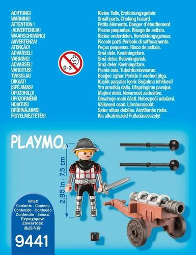 playmobil caballero del cañon 9441 original edu full