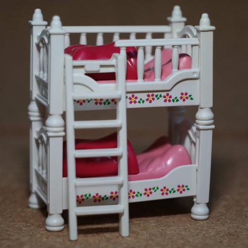 playmobil cama blanca de niños casa victoriana mueble m1 n