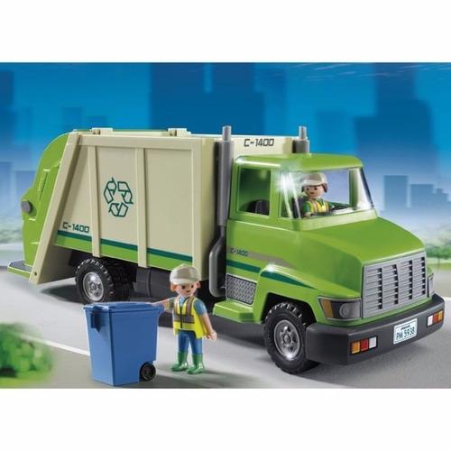 playmobil caminhão de reciclagem sunny - 5679