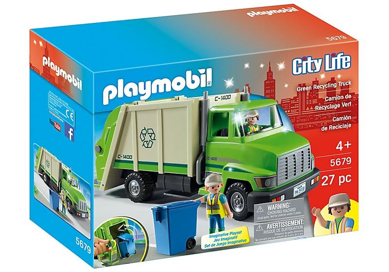 Playmobil Camiones Escolar Ambulancia Gr 250 A Basura