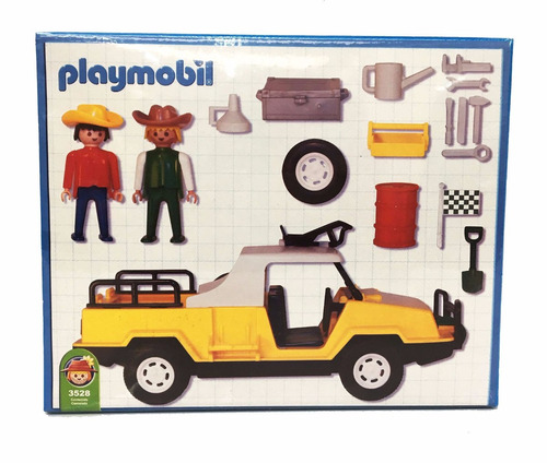 playmobil camioneta safari 3528 original antex