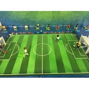 8216e799485d8 Playmobil Futebol Exclusivo Maleta Campo Fifa Presente