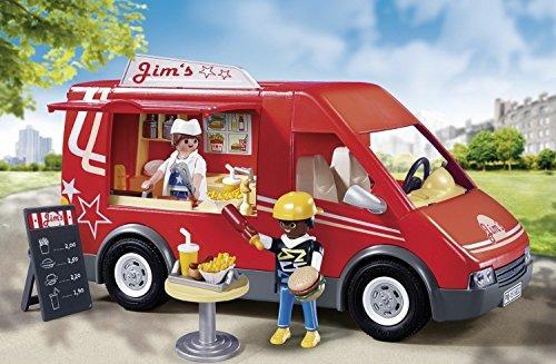 playmobil city camión para camiones de comida