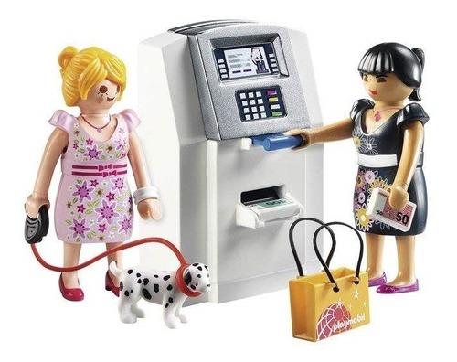 playmobil city life cajero automatico art. 9081