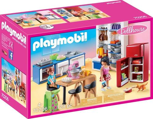 playmobil cocina dollhouse 70206 coleccion original educando