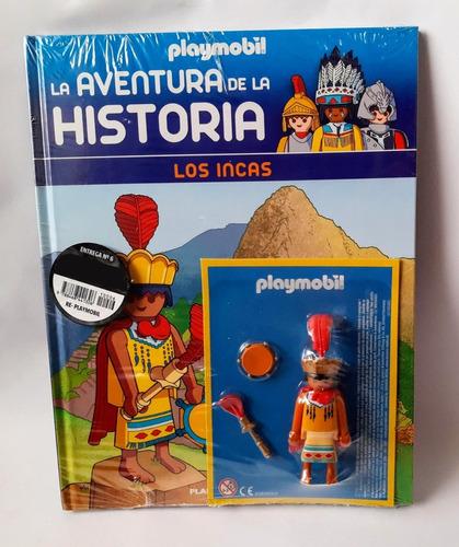 playmobil - colección -  nº 9 - los incas