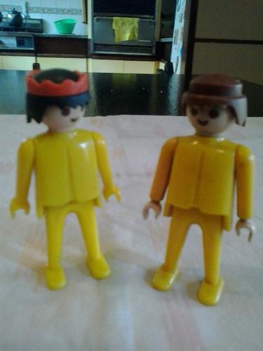 playmobil combo x 2 muñecos regalados!!!!!!